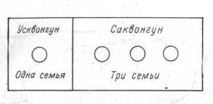 Общинно-родовая структура поселения в устье реки Кири